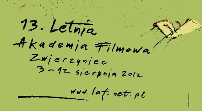Konkurs na plakat 15. edycji Letniej Akademii Filmowej w Zwierzyńcu